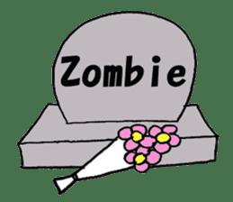zombies sticker #520428