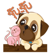 Puggy Pug sticker #520745