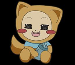 cute fox sticker #520754