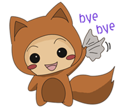 cute fox sticker #520755