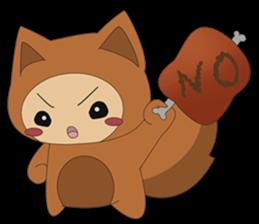 cute fox sticker #520757