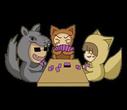 cute fox sticker #520759