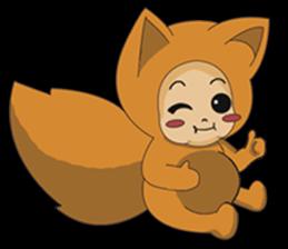 cute fox sticker #520762