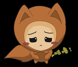cute fox sticker #520765
