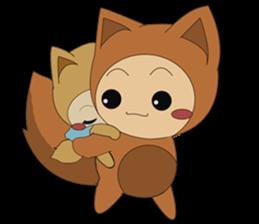 cute fox sticker #520773