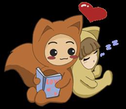 cute fox sticker #520774