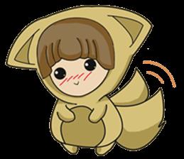 cute fox sticker #520775
