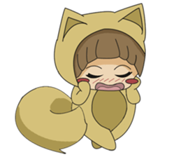 cute fox sticker #520776
