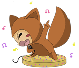 cute fox sticker #520778