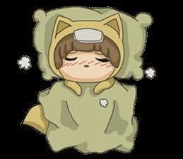 cute fox sticker #520781