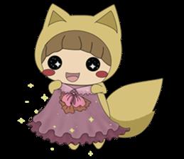 cute fox sticker #520784