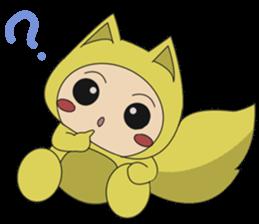 cute fox sticker #520789