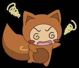 cute fox sticker #520791