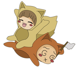 cute fox sticker #520792