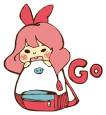 Pink Bio sticker #521645