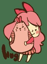 Pink Bio sticker #521667