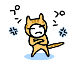 KAZURIN 10: Cat sticker #522484