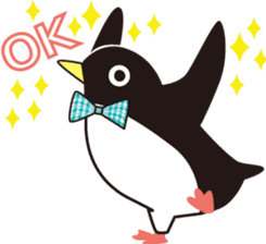 Penguins of the south sticker #522935