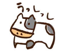 mokumokuchan3 sticker #522960