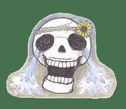 Skeleton Uhbe-san(1) sticker #523155