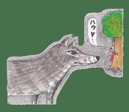 Skeleton Uhbe-san(1) sticker #523157