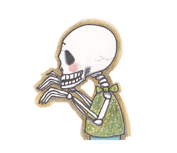 Skeleton Uhbe-san(1) sticker #523158