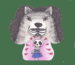 Skeleton Uhbe-san(1) sticker #523160