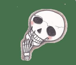 Skeleton Uhbe-san(1) sticker #523166