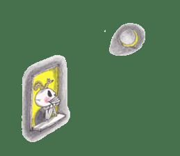 Skeleton Uhbe-san(1) sticker #523167