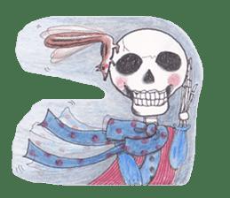 Skeleton Uhbe-san(1) sticker #523169