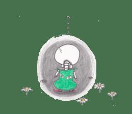 Skeleton Uhbe-san(1) sticker #523171