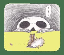 Skeleton Uhbe-san(1) sticker #523172