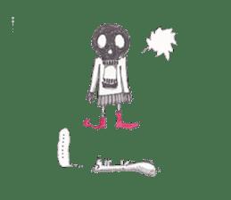 Skeleton Uhbe-san(1) sticker #523175
