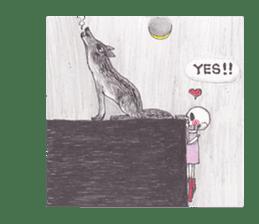 Skeleton Uhbe-san(1) sticker #523178