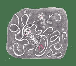 Skeleton Uhbe-san(1) sticker #523181