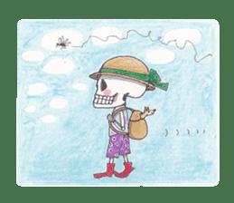 Skeleton Uhbe-san(1) sticker #523184