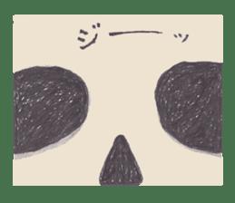 Skeleton Uhbe-san(1) sticker #523189