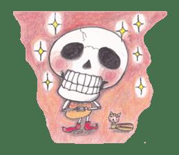 Skeleton Uhbe-san(1) sticker #523190