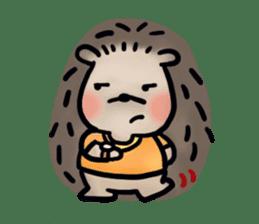 Chubby the hedgehog sticker #526331
