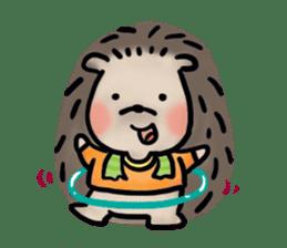 Chubby the hedgehog sticker #526332