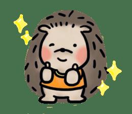 Chubby the hedgehog sticker #526338