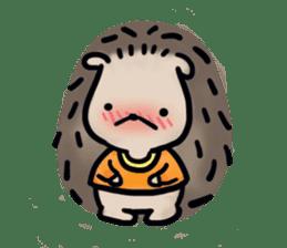 Chubby the hedgehog sticker #526343