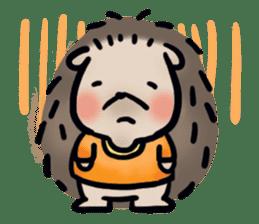 Chubby the hedgehog sticker #526345
