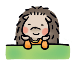 Chubby the hedgehog sticker #526347