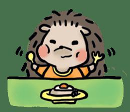 Chubby the hedgehog sticker #526348