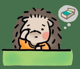 Chubby the hedgehog sticker #526350