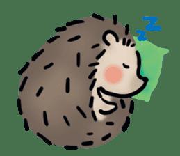 Chubby the hedgehog sticker #526352