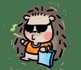 Chubby the hedgehog sticker #526357