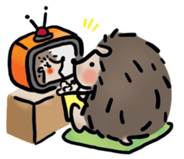 Chubby the hedgehog sticker #526359