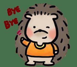 Chubby the hedgehog sticker #526362
